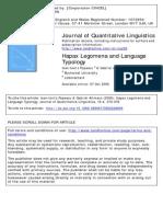 Hapaxlegomena Tipo Log i a Lengua Je