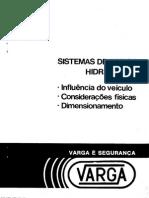 Sistemas de Freios Hidráulicos Varga