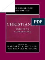 The Cambridge History of Christianity Vol 1 Origins to Constantine