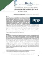 Análise Dos Algoritmos de Mineração j48 e Apriori