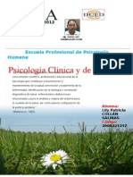 Trabajo de Psicologia Clinica y de La Salud i