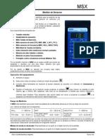 Manual de Uso DLAND MSX