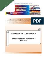 Carpeta Metodologica 2012.Ultima.