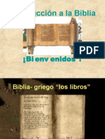 01 Introduccion a la Biblia Antiguo Testamento