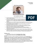 1 research essay assignment sheet