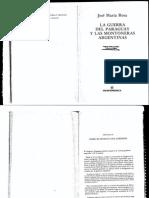 La Guerra Del Paraguay y Las Montoneras Argentinas Jose Maria Rosa
