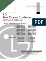 M483CX manual air conditioner LG