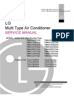 M483CX manual air conditioner LG