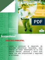 Taller Actitudes Preventivas 2002