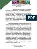 Prontuario- Curso de Productores y Promotores Agroecológicos (2015)