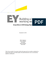 EY Group Ethics Comparison
