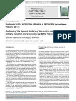 Protocolo Sego - Itu Gestantes - Febrero 2013 - Elsevier