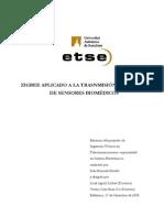 ZIGBEE APLICADO A LA TRASNMISIÓN DE DATOS DE SENSORES BIOMÉDICOS