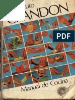Manual de Cocina de Crandon