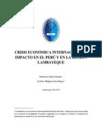 Crisis Economica Peru