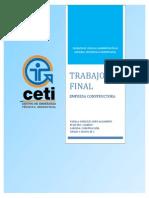 Empresa constructora CONSTRUMEX