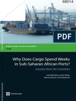 Cargo Dwell Time in African Ports