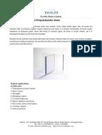 Excelite FR Polycarboante Sheet
