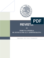 REVISTA DEL TRIBUNAL FEDERAL DE JUSTICIA FISCAL Y ADMINISTRATIVA