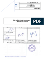 APL 1.2 Manual de Toma de Muestra Lab Clinico
