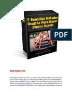 7 Sencillo Metodos Para Ganar Dinero