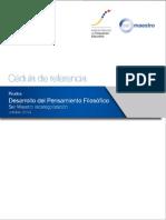 03. Cedula Referencia -Smr2014 - Desarrollo Del Pensamiento Filosofico