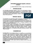manejo de La Meningitis Bacteriana Aguda y Absceso Cerebral