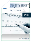 Daily Equity Report 30-12-14