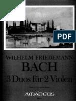 Duetos Viola WF Bach