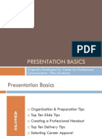 Presentation Basics Final Project 386