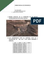 3ª Examen Parcial de Topografía II