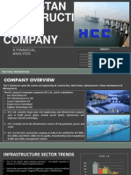 Hindustan Construction Company Financial Analysis 2010-2014