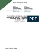 Formación docente en el desarrollo de competencias digitales e informacionales a través del modelo enriquecido TPACK*CTS*AbP