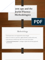 Warm Ups an the Joyful Fluency Methodologies (1)