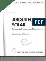 Arquitectura Solar - Sabady