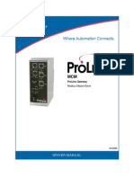 Mcm Driver Manual - Prolinx gateway