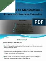Proceso de Extrusión - PDF