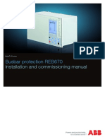 Installation Commissioning Manual REB670 1.2