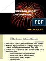 PENDEKATAN MODEL DOKUMENTASI