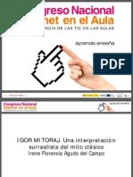 Igor Mitoraj-Presentación Congreso Internet-Madrid 2008