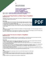 Adobe Page Maker Tutorials