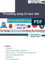What is Multithreading in DotNet