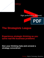 Accenture Strategy - The Strategists League