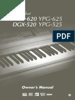 Yamaha Dgx620 Eng