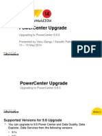 PowerCenter Upgrade