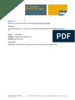 SAP FI - Automatic Payment Program (Configuration and Run).pdf