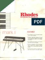 Fender Rhodes Stage Mk1