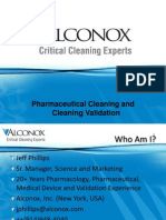 2013 Pharmaceutical Cleaning and Validation Alconox Presentation