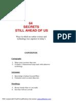 64 Secrets Still Ahead of Us -Jonathan Gray