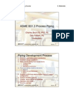 B31.3 Process Piping Course - 03 Materials-libre